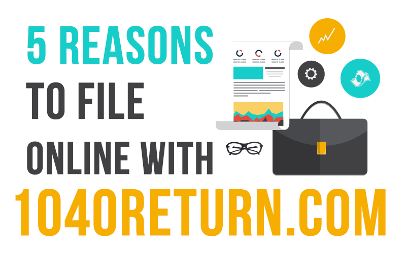 5 Reasons To File Your Tax Return Online With 1040return
