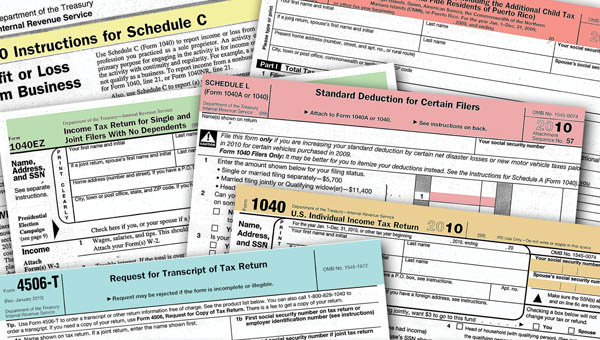 Tax Forms Form Information Business And Individual Taxpayers